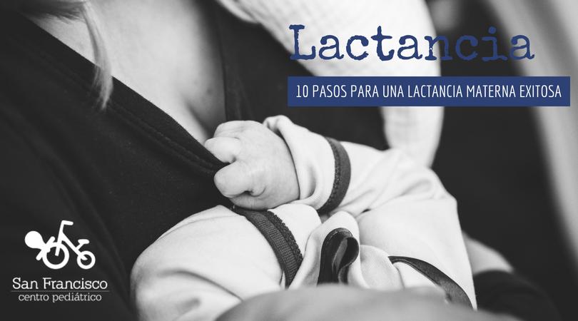 Una lactancia materna exitosa
