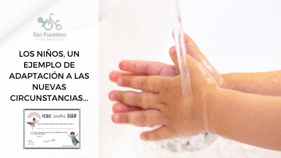LOS NIÑOS, UN EJEMPLO DE ADAPTACIÓN A LAS NUEVAS CIRCUNSTANCIAS…